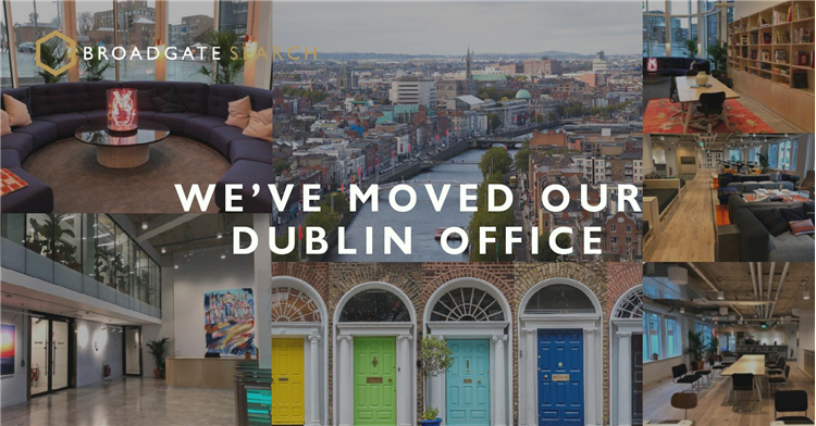 We've moved our Dublin office!