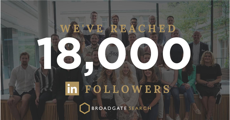 We've hit 18k LinkedIn Followers!