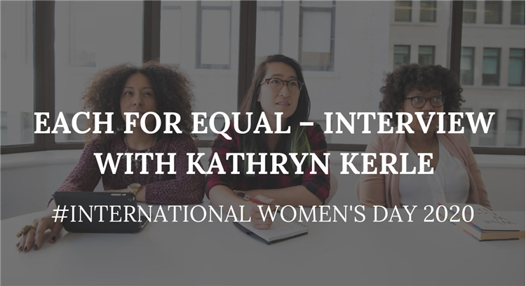Each for Equal - Interview with Kathryn Kerle