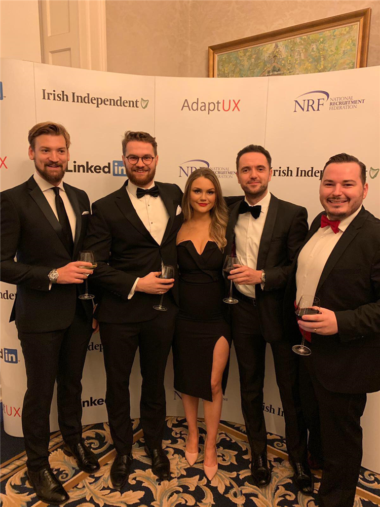 Broadgate Search Win 'Best New Agency 2018' at the NRF Awards 2018
