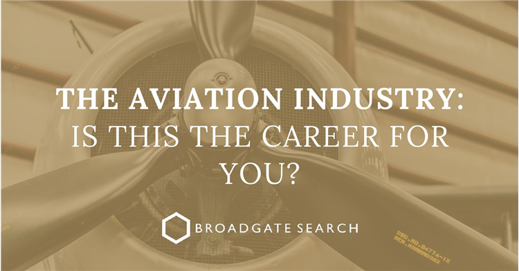 The Aviation Industry – is this the career for you?