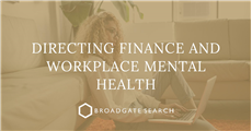 Directing Finance and workplace mental health