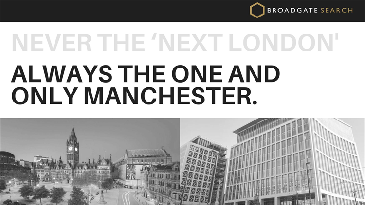 Never the 'Next London'.. Always the One and Only Manchester
